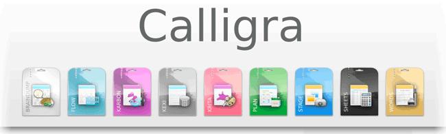 Calligra Office para Linux