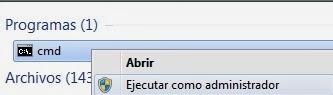 Ejecutar como Administrador Windows
