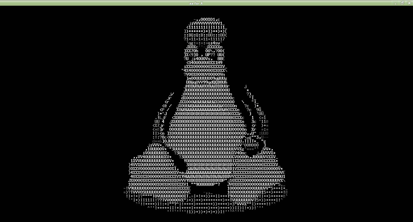 Imágenes ASCII en Terminal de Linux