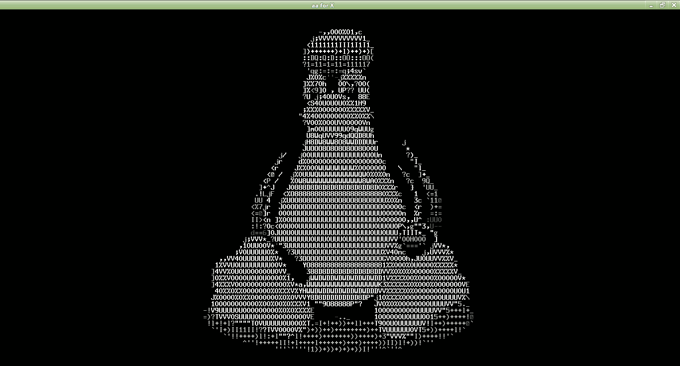 Tux ASCII Terminal Linux