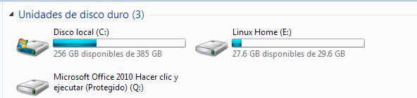 Leer particiones de linux en Windows