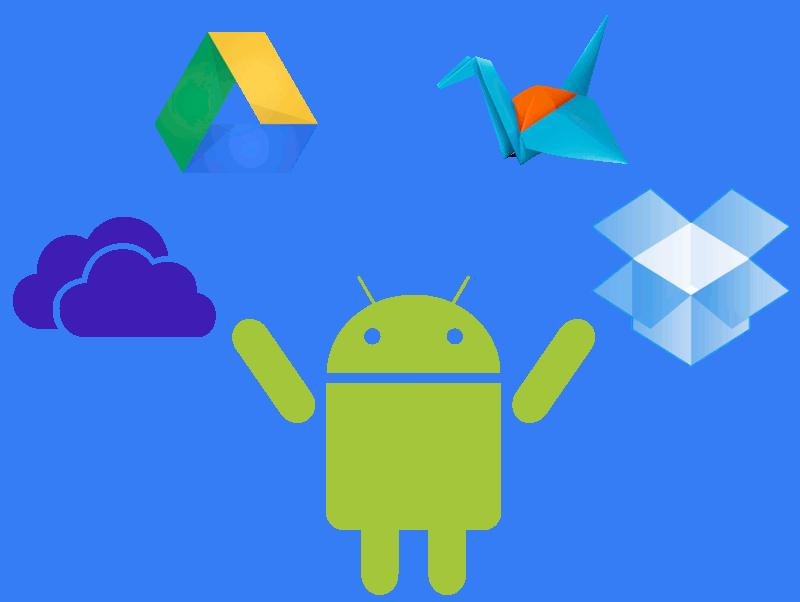 Almacenamiento online en Android