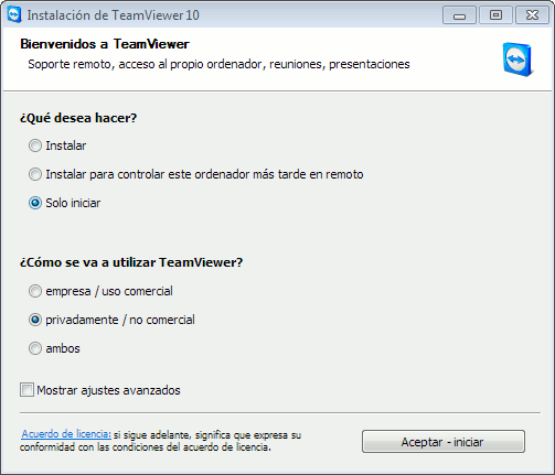 Instalar Teamviewer Windows