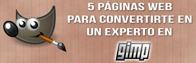Paginas web de Gimp