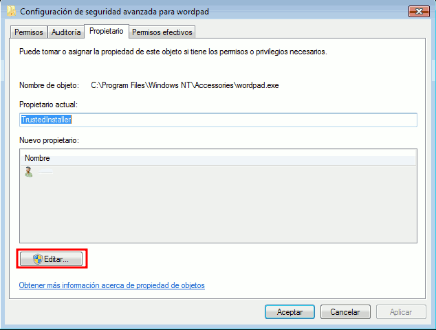 Configuración avanzada de Windows