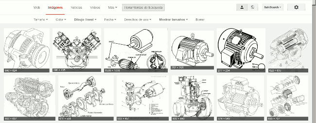 Google  Imágenes Dibujo Lineal