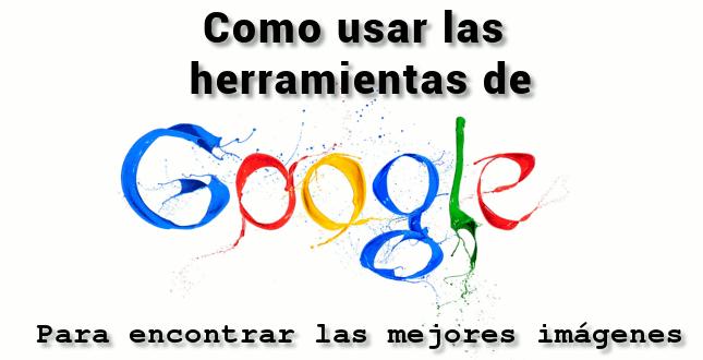 Herramientas de Google Imágenes
