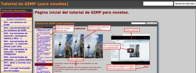 Tutoriales de Gimp en español