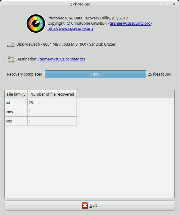 Recuperar archivos borrados en Ubuntu