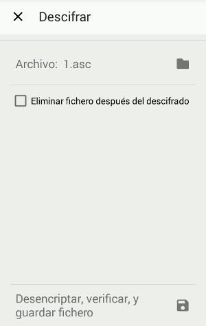 Desencriptar archivos de Android