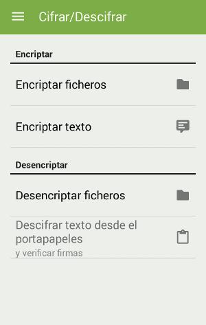 Encriptar y desencriptar archivos en Android