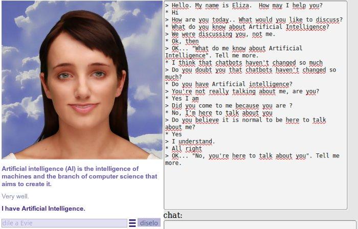 Cleverbot vs ELIZA