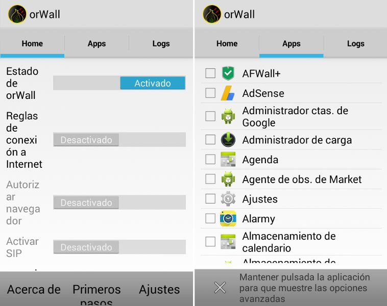 OrWall Android