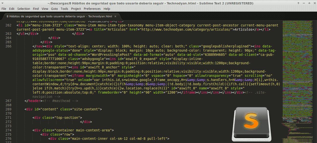 Sublime Text 2 Linux