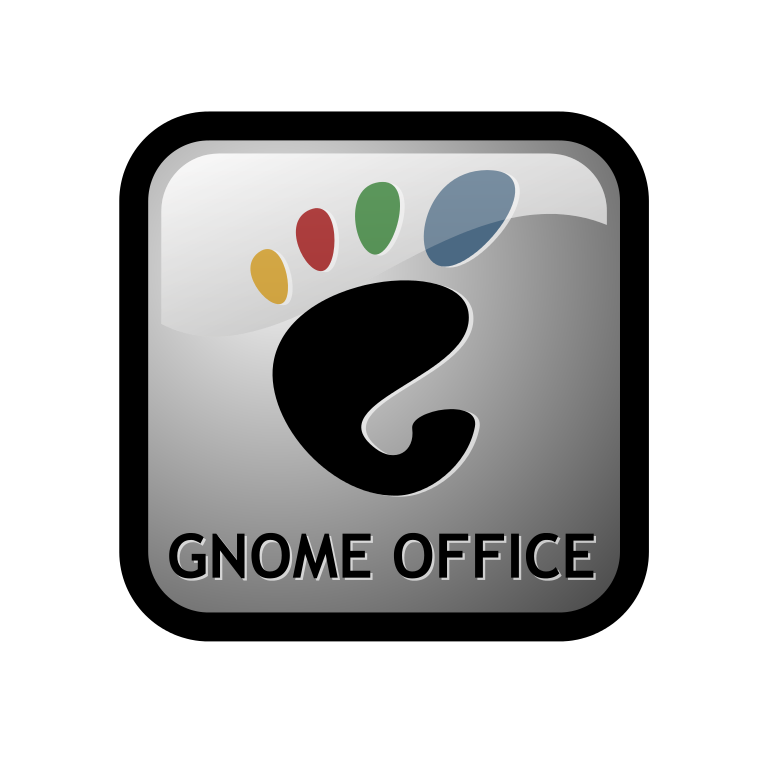 Gnome Office Logo LInux