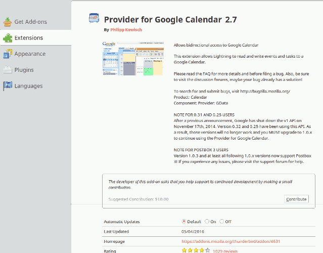 Mozilla Addons Web