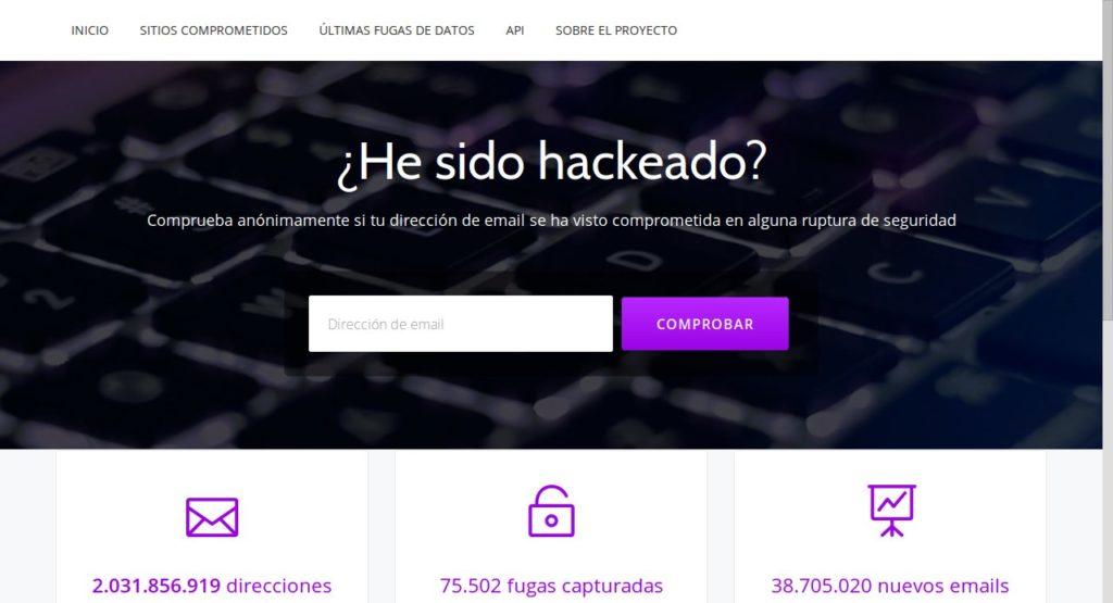 HeSidoHackeado.com siempre se mantiene actualizado frente a las últimas filtraciones gracias a su motor de rastreo, al estilo de los buscadores como Google o Bing.
