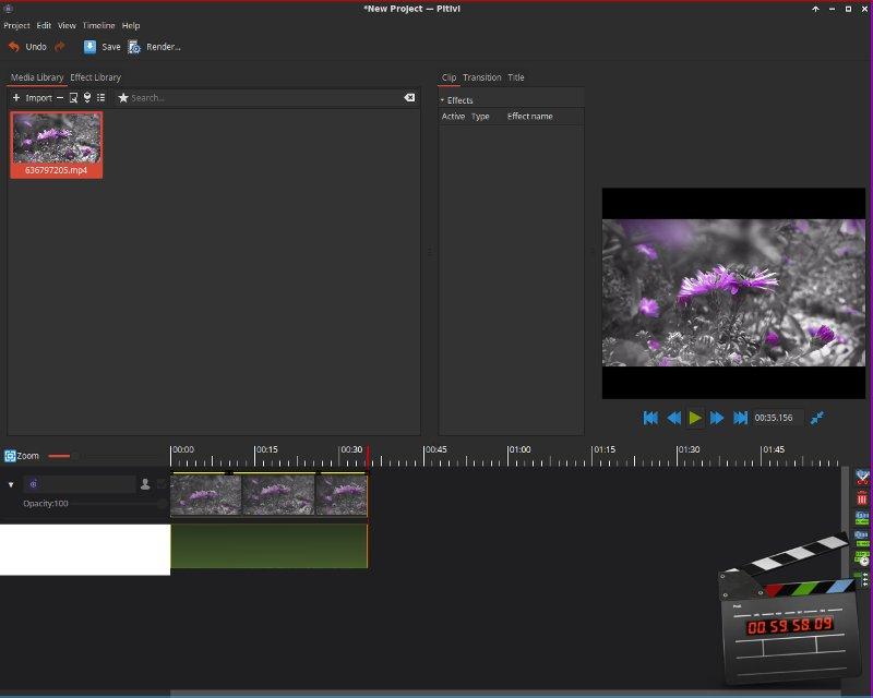 La evolución de Pitivi ha hecho que pase de ser el editor de vídeo predeterminado de Ubuntu a uno bastante completo.