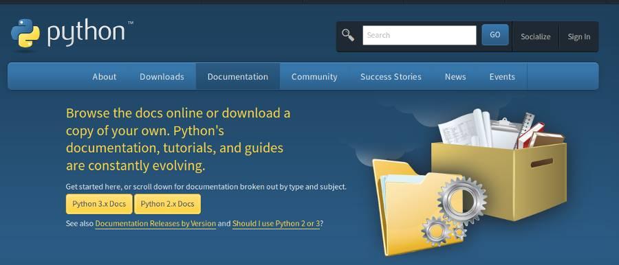 Documentacion oficial de Python