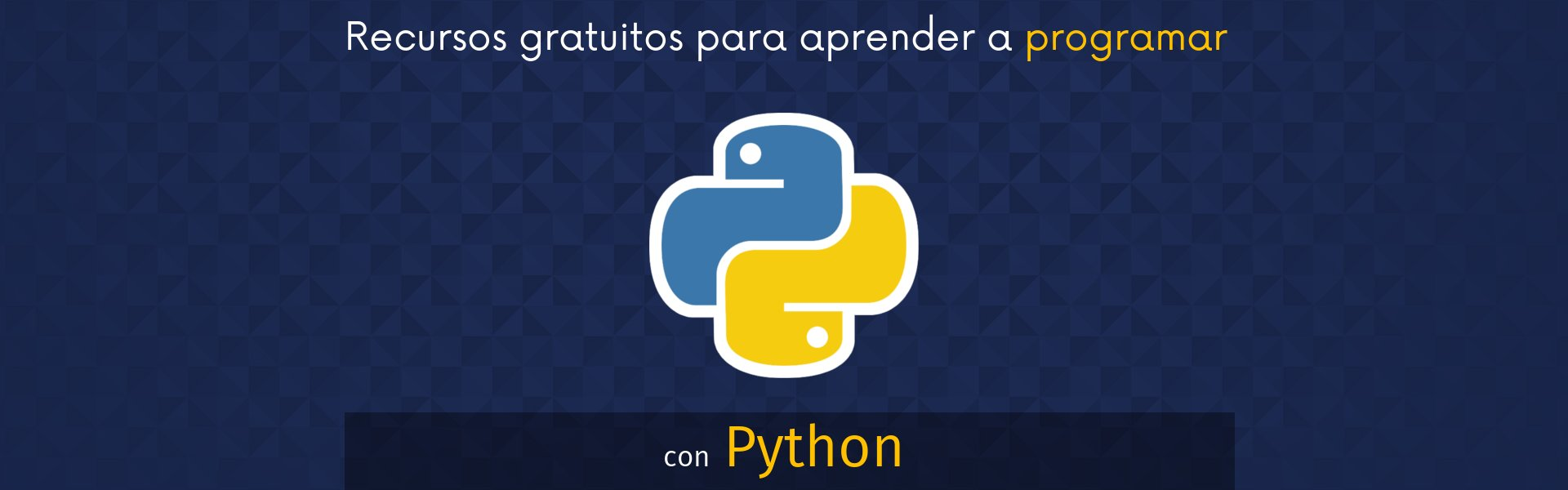 Aprender a programar con Python